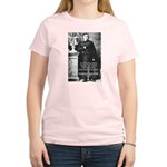 Critic of Religion: Nietzsche Women's Pink T-Shirt