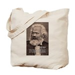 History Analyst Karl Marx Tote Bag