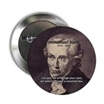 """Universal Law: Kant 2.25"""" Button (10 pack)"""