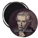 """Universal Law: Kant 2.25"""" Magnet (10 pack)"""