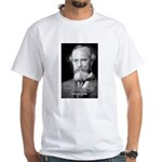 William James Life and Change White T-Shirt