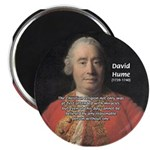 """Christianity and David Hume 2.25"""" Magnet (10 pack)"""