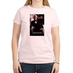 Imagination Thomas Edison Women's Pink T-Shirt