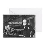 World War II Churchill Greeting Cards (Package of