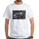 World War II Churchill White T-Shirt