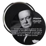 World War 2 Churchill Magnet