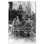 Marie & Pierre Curie Good Evil Large Poster