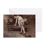 Women Sexy Poses Greeting Cards (Pk of 10)