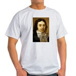 Samuel Taylor Coleridge Poet Ash Grey T-Shirt