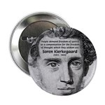 """Irony Freedom of Speech 2.25"""" Button (10 pack)"""