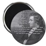 "Goethe on Pure Thought 2.25"" Magnet (100 pack)"