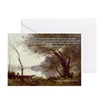 Corot Impressionist Art Greeting Cards (Package of