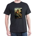 Leonardo da Vinci Art Spirit Black T-Shirt