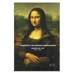 Mona Lisa: Da Vinci Quote Large Poster