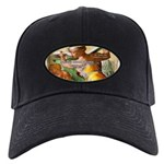 Words on Genius Michelangelo Black Cap