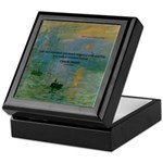 Claude Monet Torture Art Keepsake Box