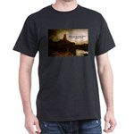 Rembrandt Painting & Quote Black T-Shirt
