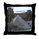 Renoir The Louvre & Nature Throw Pillow