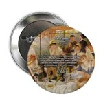 "Renoir Quote and Landscape 2.25"" Button (100 pack)"