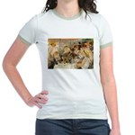Renoir Quote and Landscape Jr. Ringer T-Shirt