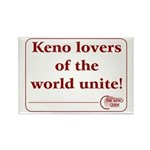 Keno Rectangle Magnet