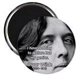 """Playwright Oscar Wilde 2.25"""" Magnet (100 pack)"""